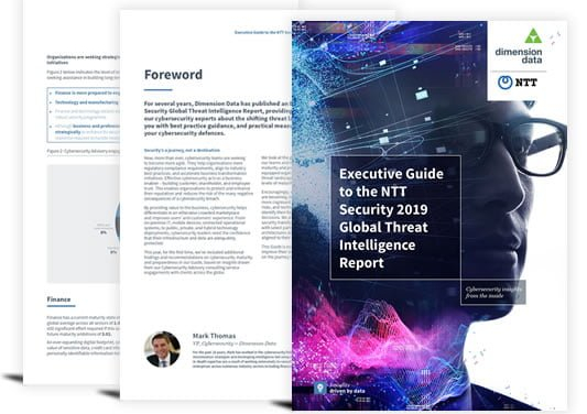 Executive Guide: NTT Global Threat Intelligence Report 2019