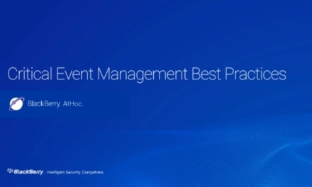 Webinar: Best practices for critical event management